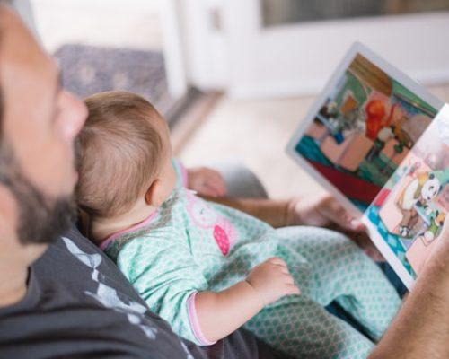 Namuose laiką leiskime prasmingai – žaiskime kartu iliustracija