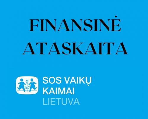 SOS vaikų kaimai veikia vadovaudamiesi skaidrumo principais iliustracija